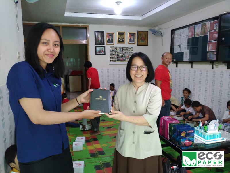 PT  Eco Paper Indonesia telah melakukan kegiatan CSR (Corporate